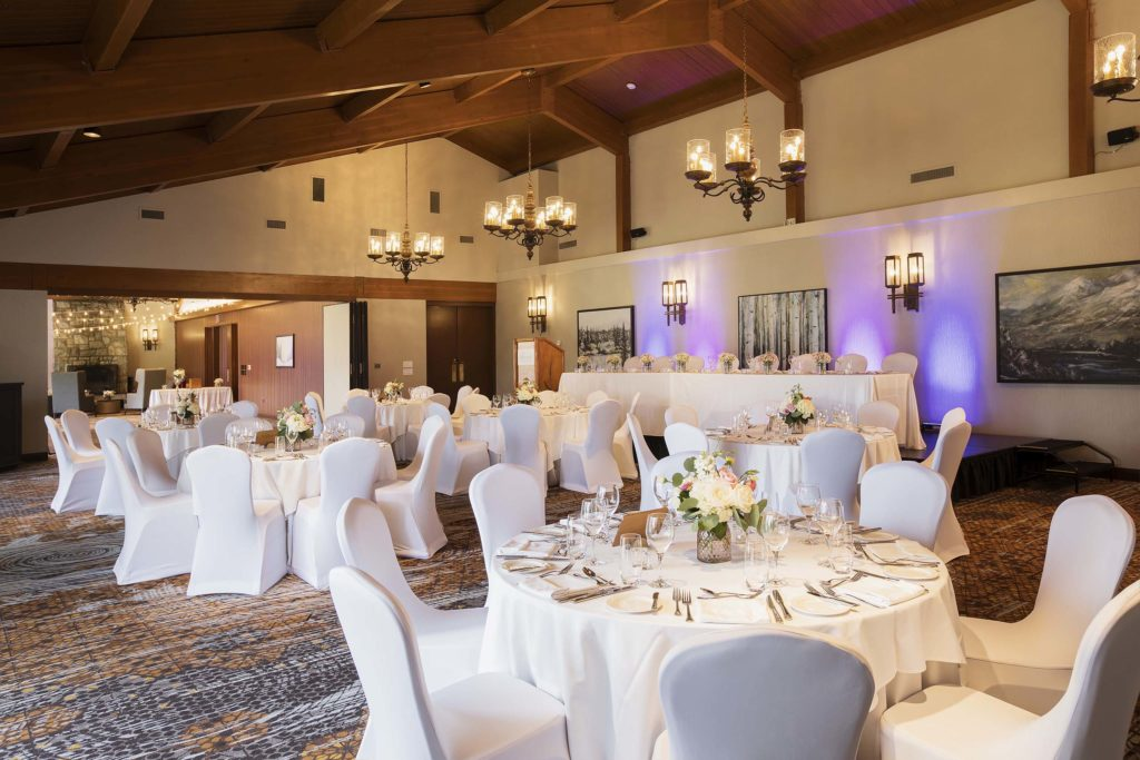 Tonquin Room - Meetings and Weddings at Fairmont Jasper Park Lodge