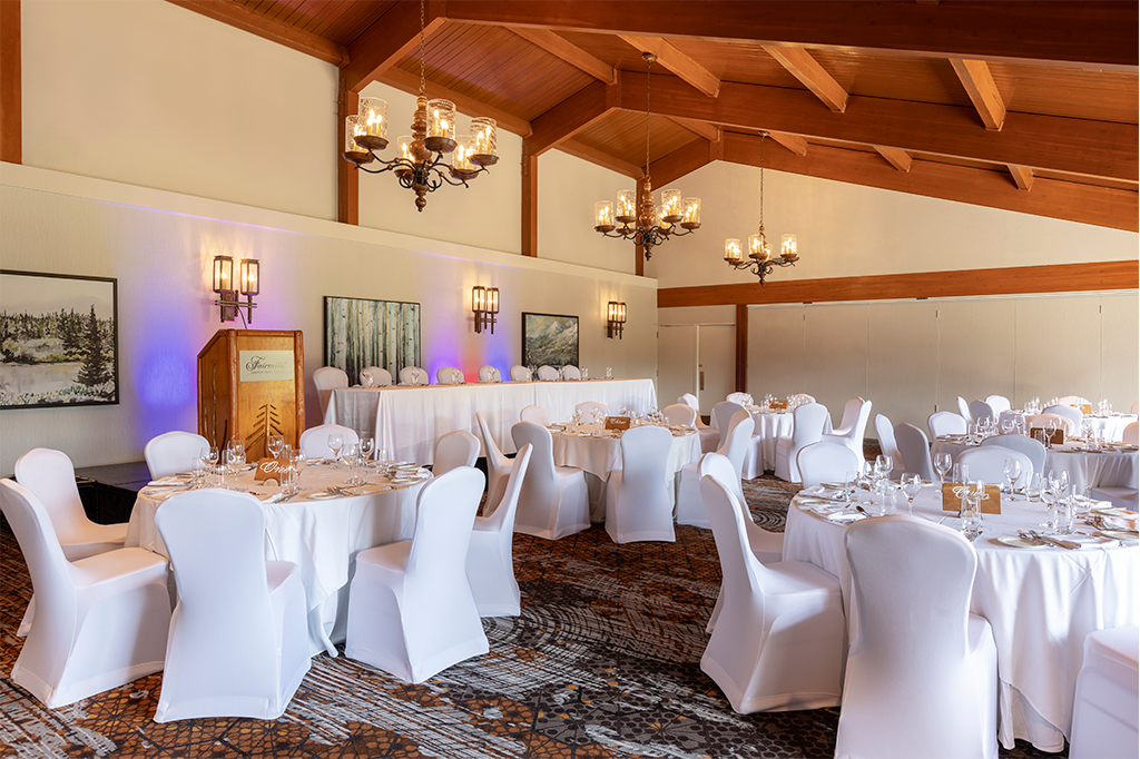 Tonquin and Spike Room - Wedding and Meeting at Fairmont Jasper Park Lodge