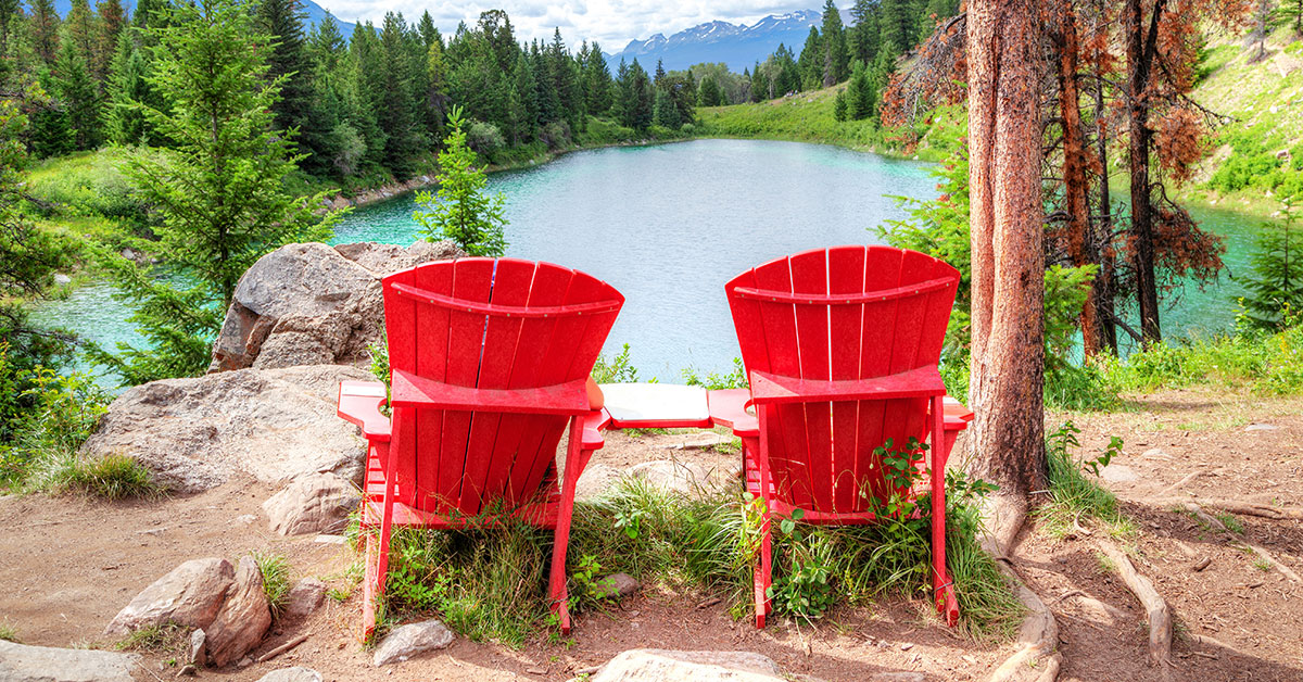 Have you heard of the red chairs in Jasper?
