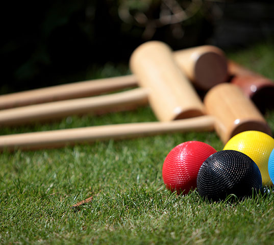 Croquet in the mountains and many other games